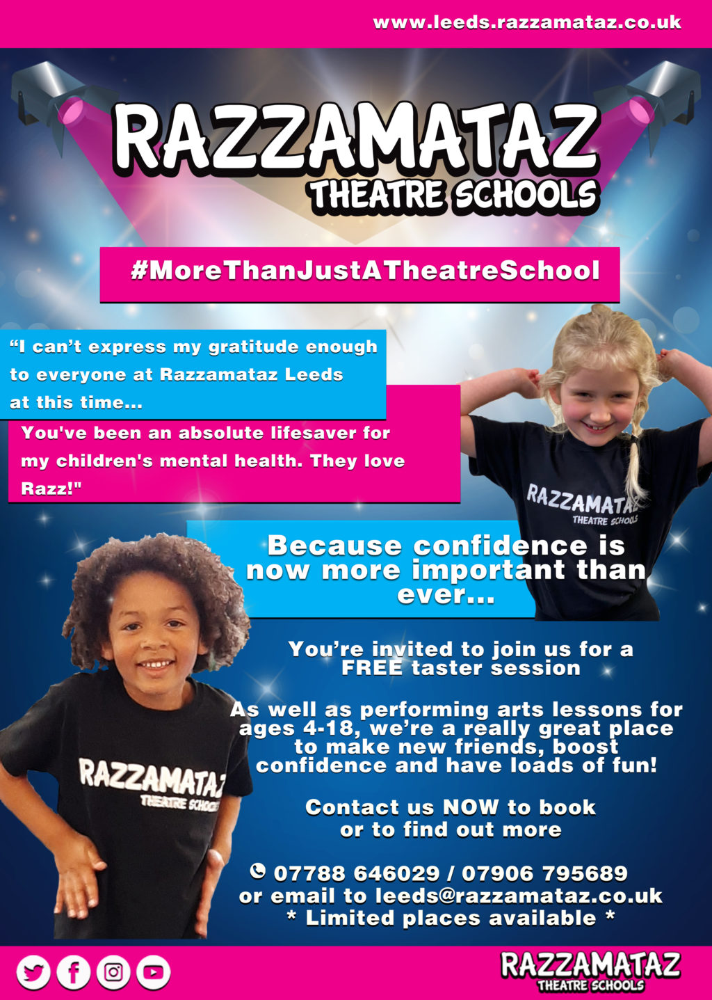 Theatre Drama Music Classes For Children In Leeds North Leeds Mumbler Your Local Parenting Community