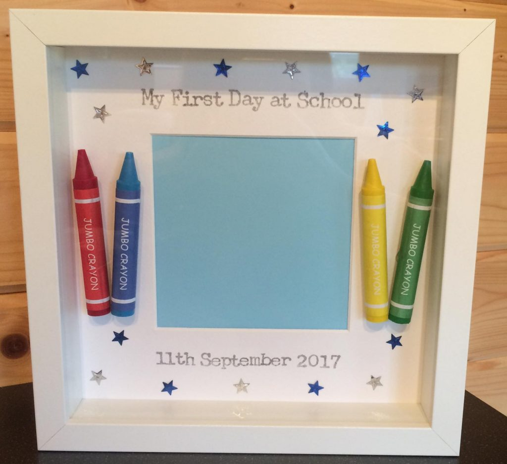 Chance To Win A First Day At School Frame From The Little Crafter