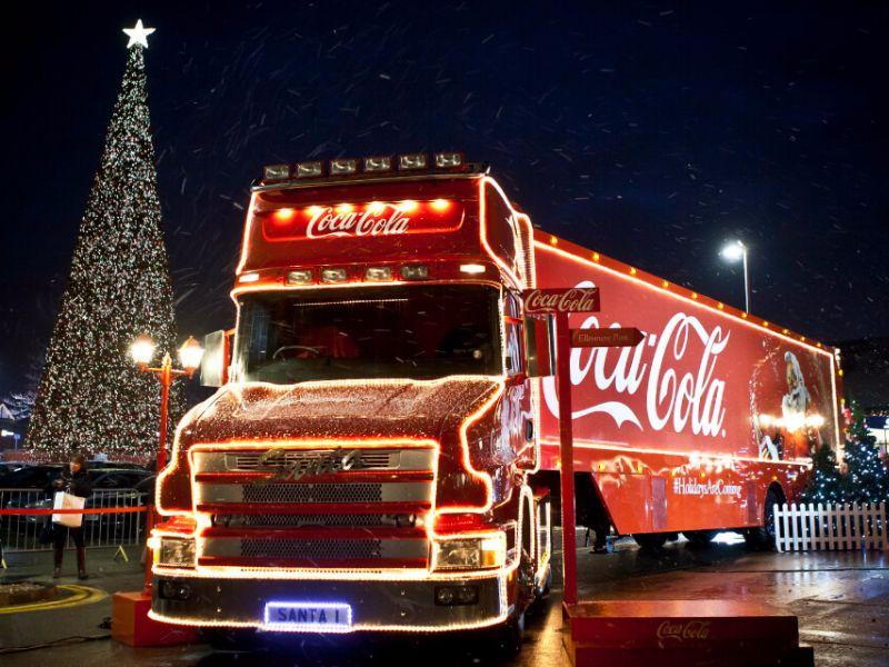 coca cola truck 2019 grimma