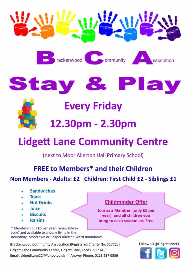 be2962784 Friday Weekly Classes and Playgroups in North Leeds for 0-4 Years ...