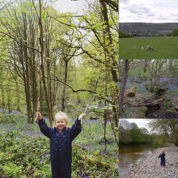 Middleton Woods walk with children in Leeds