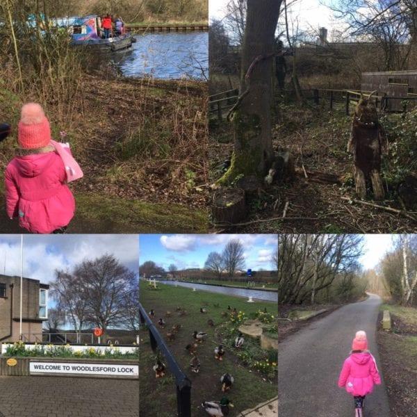 Woodlesford walks for children in Leeds