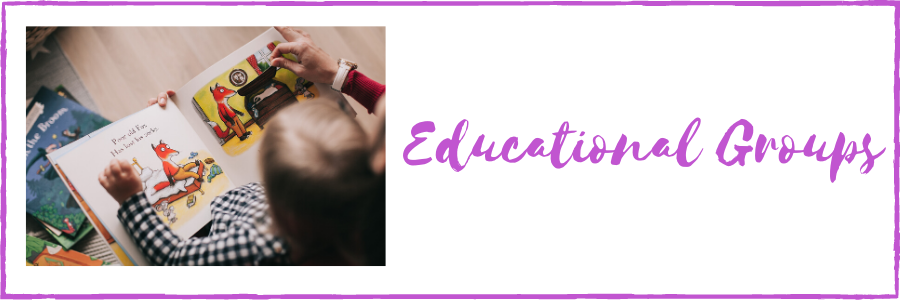 Educational Groups for babies and toddlers