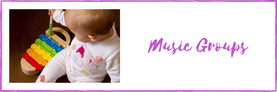 Music Groups for babies and toddlers